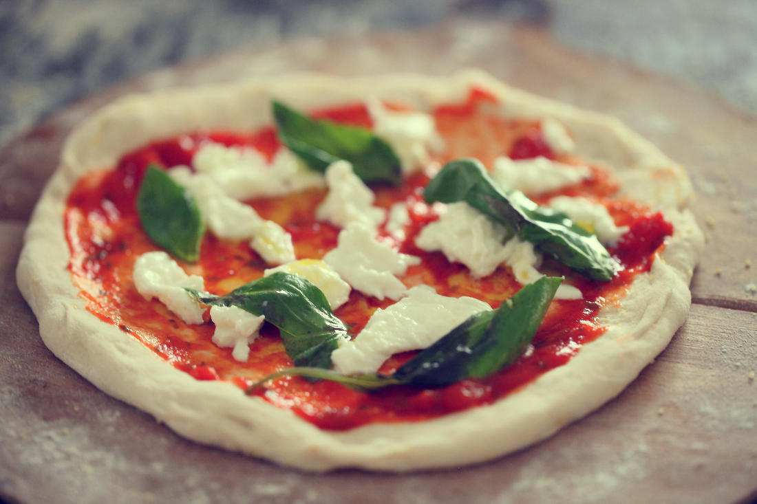 pate a pizza maison
